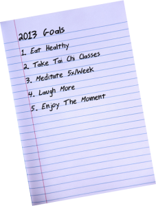 What are your goals for 2013?