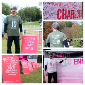 Avon Walk for Breast Cancer awareness montage