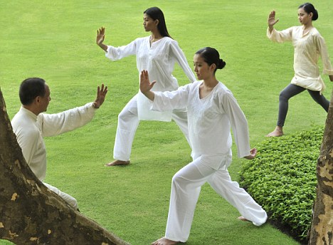 Tai Chi can improve focus, attention, and concentration