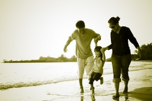 To relieve family stress, take time out for fun activities