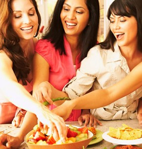 Healthy eating at home and while dining out is important to healthy living.